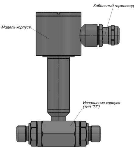 Датчик разности/перепада давления ИД-Р