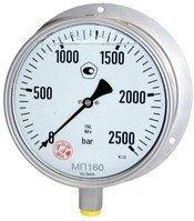 Манометры МП100НН/МП160НН-250МПа,-400МПа,-600МПа для сверхвысокого давления