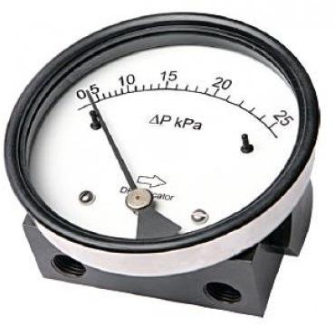 МДП дифманометр с магнитным поршнем