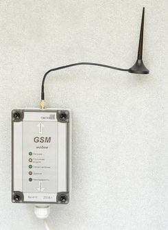 Адаптер с GSM-модемом
