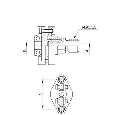 Монтажный комплект для ТХА/ТХК-0595, ТСМ/ТСП-0595