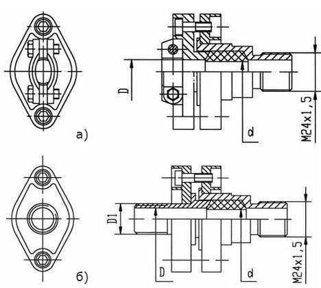 Монтажный комплект для ТХА/ТХК, ТСМ/ТСП-0595