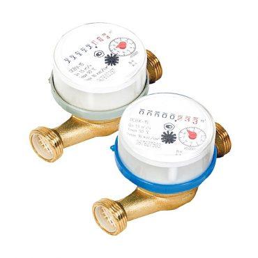 ОСВУ/ОСВХ (Ду 15,20) счетчики крыльчатые одноструйные холодной или горячей воды