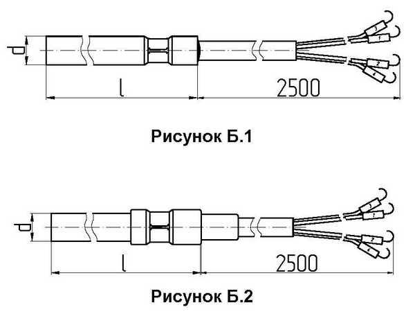 Габаритные размеры термометров сопротивления ТСМ/ТСП-0196-13...20