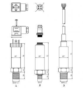 БД-1 размеры датчика