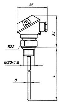 Габаритные размеры КТСП-, КТСМ-02, -02Б