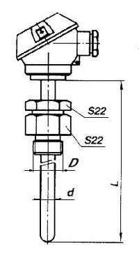 Габаритные размеры КТСП-0196-08, -08Б