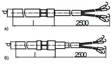 Габаритные размеры КТСП-0196-13...-20