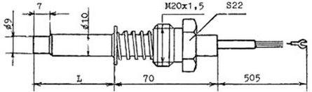 Габаритные размеры ТСМ-1193-02