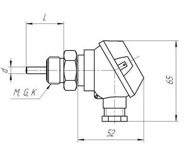Габаритные размеры ТСМ-, ТСП-05-02