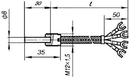 Габаритные размеры ТСП-1193-01