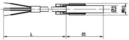 Габаритные размеры ТСП-1193-04