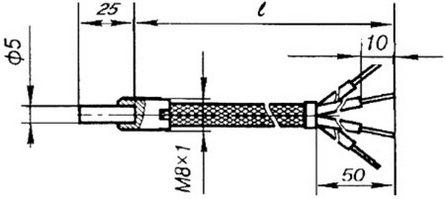 Габаритные размеры ТСП-1193