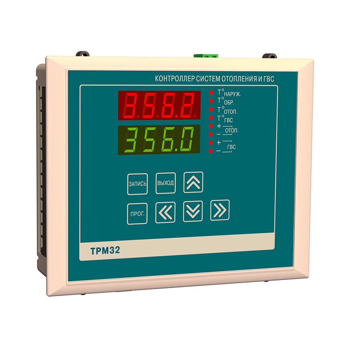 Контроллер ТРМ32 для отопления и ГВС