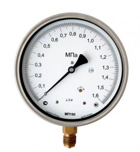 МП160Н-0,4% манометр образцовый