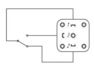 Схема электрических соединений реле давления ДЕМ-105М1-РАСКО