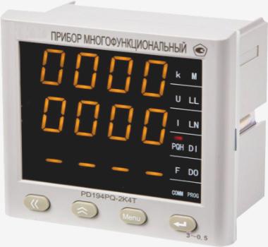 Многофункциональные приборы щитового исполнения PD194PQ