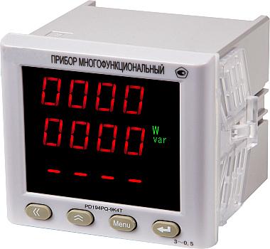 Многофункциональный прибор PD194PQ щитового исполнения (лицевая панель 96х96 мм)