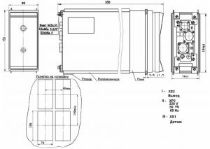 размеры БИК36М блока извлечения корня