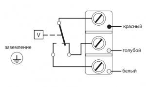 реле потока воздуха LPS схема подключения