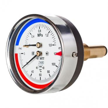 термоманометр МПТ-d80-осевой