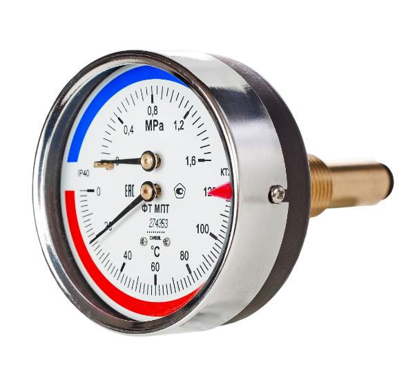 Термоманометр МПТ-d80/d100-РШ/ОШ