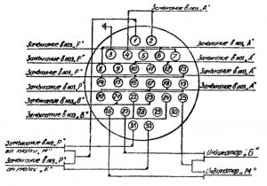 блок управления БУ21 схема соединения
