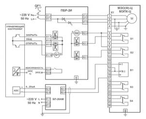 пускатель ПБР-2И схема подключения