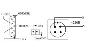схема подсоединения ИТВ-2605D