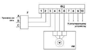 усилители ФС-0610, ФС-0611, ФС-0613, ФС-0620, ФС-0621 схема подключения