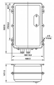 усилители ФС-0610, ФС-0611, ФС-0613 размеры