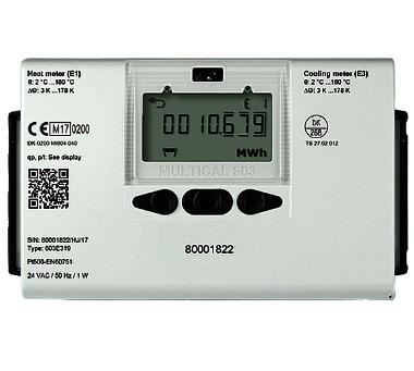 Счетчик тепла и охлаждения MULTICAL 603