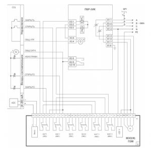 ПБР-3ИК-4 схема подключения