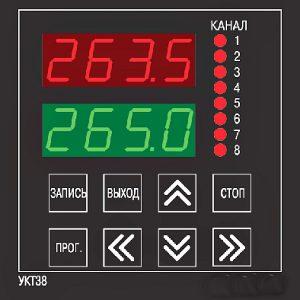 Восьмиканальный измеритель УКТ38