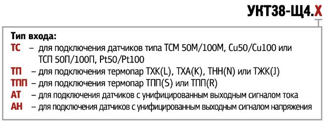 Форма заказа УКТ38