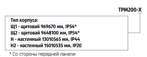 Форма заказа. Измеритель ТРМ200