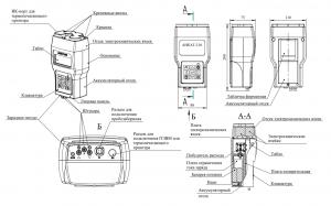 газоанализатор АНКАТ-310 внешний вид