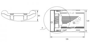 размеры сигнализатора СГГ-6М и блока БСП-6М