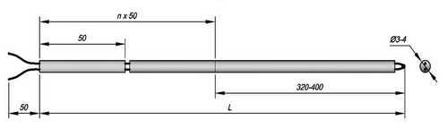 Термопара ТППТ модификации 01.01 (бескорпусная)