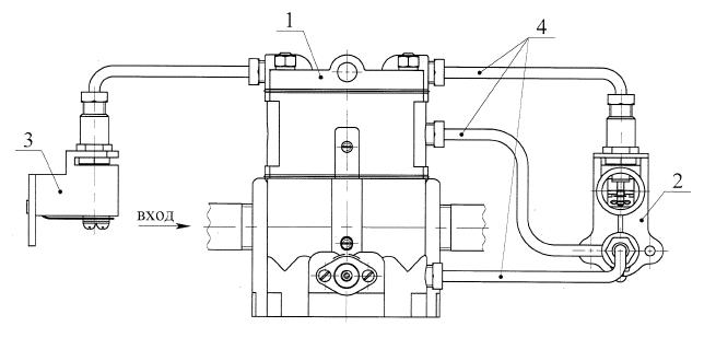 РГУ1-М1 схема подключениям регулятора газового