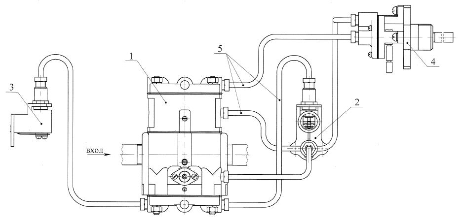 РГУ2-М1 с одним датчиком температуры