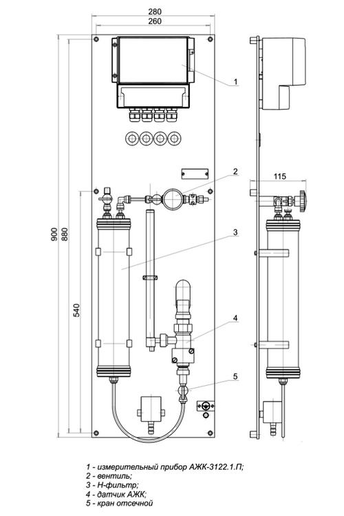 Гидропанель ГП-3101.2