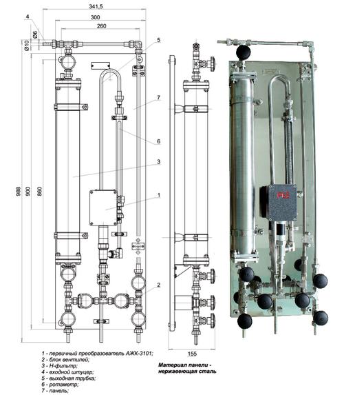 Гидропанель ГП-3101.3