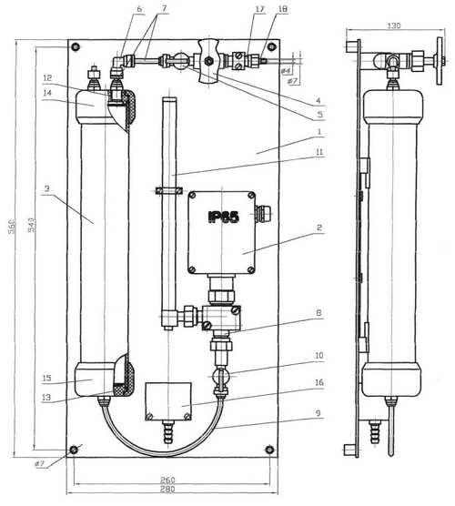 Работа гидропанелей ГП-3101, -3122