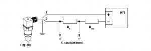 датчик давления ПД100-ДИ схема подключения