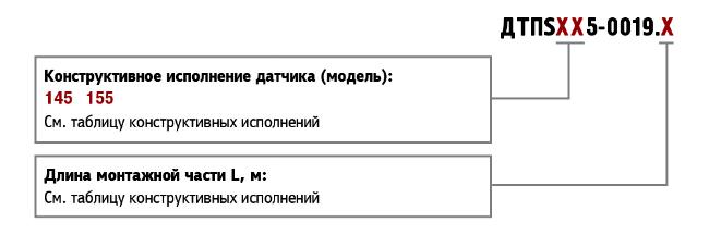 Форма заказа ДТПS-0019