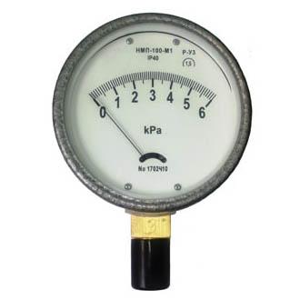 Радиальный напоромер НМП-100-М1Р