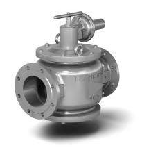 Предохранительно-запорные газовые клапаны в стальном корпусе