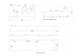 Гидравлическая система ГСКА внешний вид, размеры