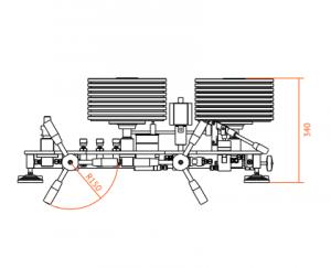 МП-Д-100 размеры манометра грузопоршневого